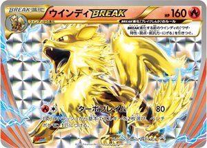 267/XY-P ArcanineBREAK | Pokemon TCG Promo